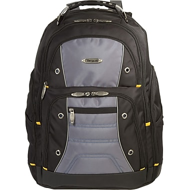 Targus® TSB239US Drifter II Backpack For 17in. Laptops, Black/Gray