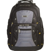 Targus® TSB239US Drifter II Backpack For 17 Laptops, Black/Gray