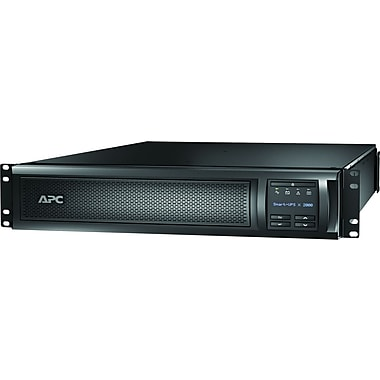 APC® SMX2000RMLV2UNC Rack/Tower Mountable 1.92 kVA Smart UPS With Network Card