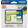 Brother® TZE Label Tape For P-Touch, 0.47in.(W) x 16.4'(L), Lime Green