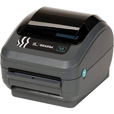Zebra Technologies® GK420 DT 203 dpi Desktop Printer 6in.(H) x 6.8in.(W) x 8.3in.(D)