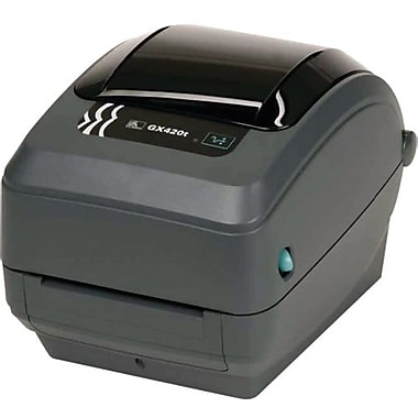 Zebra Technologies® GX420 TT 203 dpi Desktop Printer 7 1/2in.(H) x 7.6in.(W) x 10in.(D)