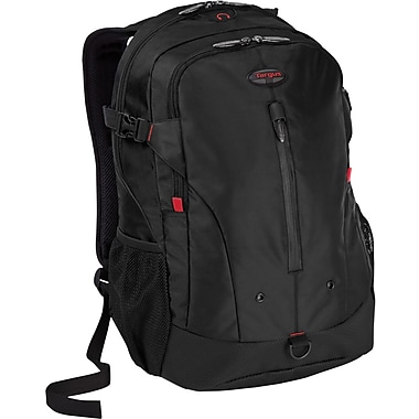 Targus® TSB226US Terra Backpack For 16in. Laptops, Black/Red