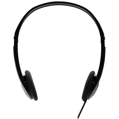 V7® HA300-2NP Stereo Headphone, Black