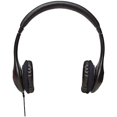 V7® HA510-2NP Deluxe Headphone With Volume Control, Black
