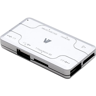 V7® CU200-3NP 3 Port Combo Card Reader