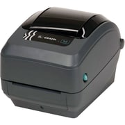 Zebra Technologies® GX420 TT 203 dpi Fast Ethernet Desktop Printer, 7 1/2(H) x 7.6(W) x 10(D)