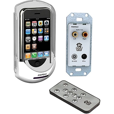 Pyle® PIWIPDK1 Audio/Video Docking Center With Wireless Remote For iPods and iPod/iPhone