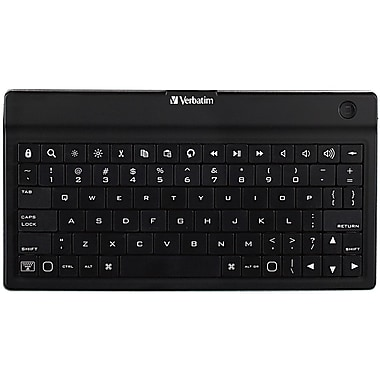 Verbatim® 97753 Ultra-Slim Mobile Keyboard