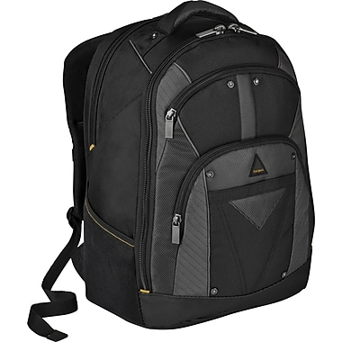 Targus® TSB214US Conquer Backpack For 16in. Laptops, Black/Gray