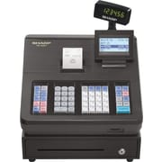 Sharp® XEA207 Thermal Print Black Electronic Cash Register