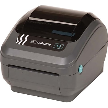 Zebra Technologies® GX420 DT 203 dpi Bluetooth Desktop Printer 6in.(H) x 6.8in.(W) x 8.3in.(D)