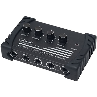 CAD® Audio HA 4 Channel Stereo Headphone Amplifier
