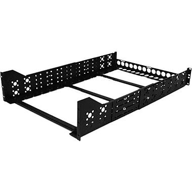 Startech.Com® UNIRAILS3U Fixed 19in. Adjustable Depth Universal Server Rack Rails