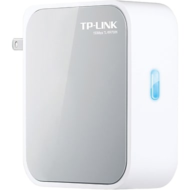 TP-LINK® TL-WR700N Wireless-N Mini Pocket Router, 2.4GHz + 2.48GHz
