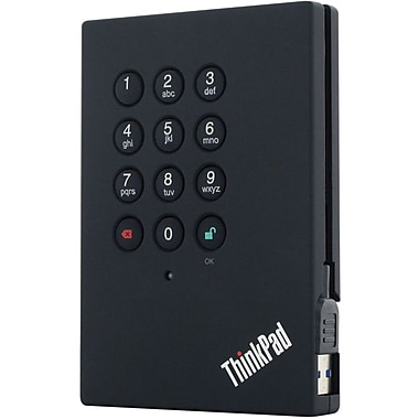 Lenovo® ThinkPad 0A65616 External Hard Drive, 750GB