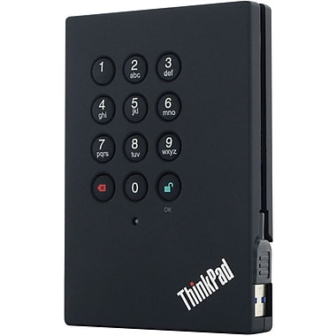 Lenovo® ThinkPad 0A65619 External Hard Drive, 500GB