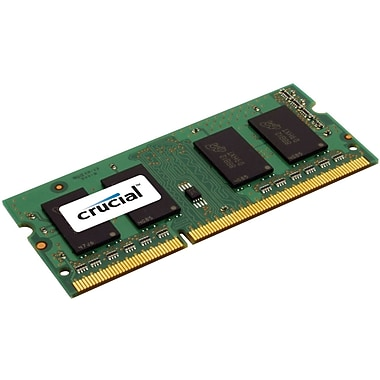 Crucial Technology CT51264BF160B DDR3 SDRAM (204-Pin SoDIMM) Memory Module, 4GB
