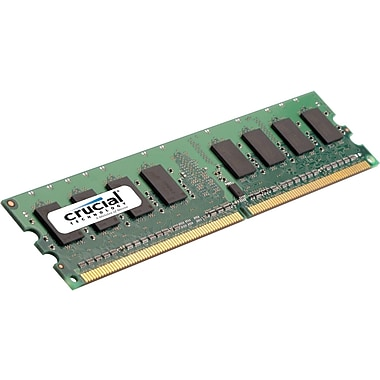Crucial Technology CT51272BD160B DDR3 SDRAM (240-Pin DIMM) Memory Module, 4GB