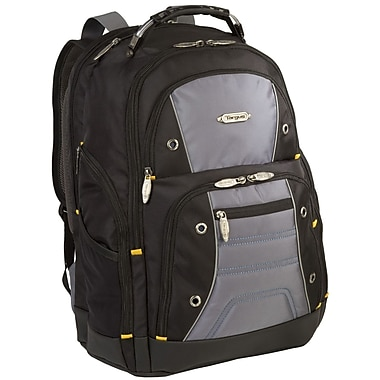 Targus® TSB702US Drifter II Plus Backpack For 16in. Laptops, Black/Gray