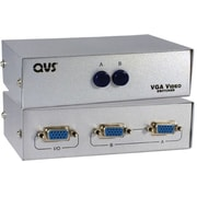 QVS® CA298 2 Ports VGA/SXGA Manual Switch