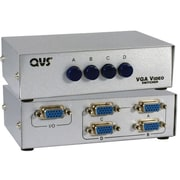 QVS® CA298 4 Ports VGA/SXGA Manual Switch