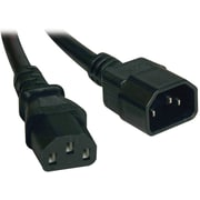 Tripp Lite P005 Power Interconnect Cord, 1.5'(L), Black