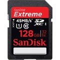 SanDisk® Extreme SDSDRX3 Secure Digital Extended Capacity Flash Memory Card, 128GB