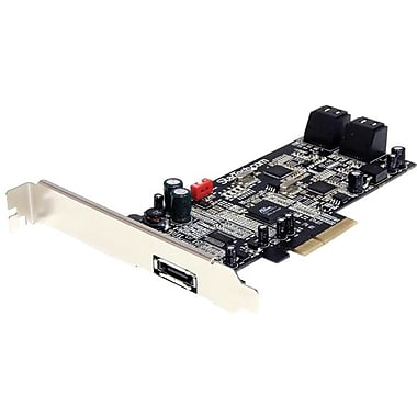 Startech.com® 4 Port Controller Card With eSATA (PEXSAT34)
