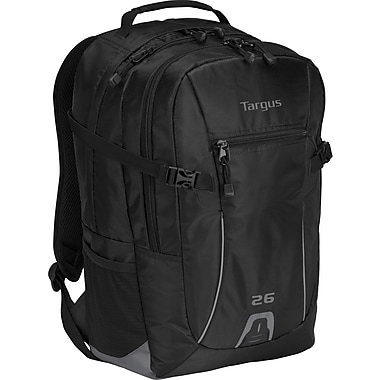 Targus® TSB712US Sport 26L Backpack For 16in. Laptops, Black