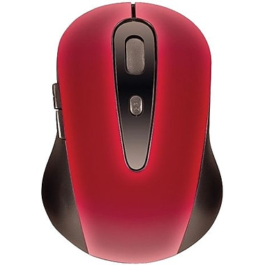 I/O Magic I012M01G Red Wireless Optical Mouse