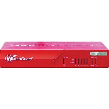 WatchGuard® XTM 25 Firewall Appliances With 3 Years Security Bundle, 5 IPsec VPN