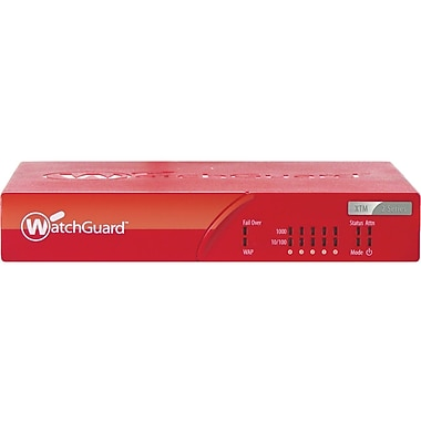 WatchGuard® XTM 26 Firewall Appliances With 1 Year Live Security, 5 IPsec VPN