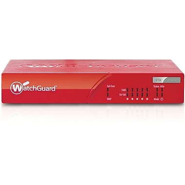 WatchGuard® XTM 26 Firewall Appliances With 1 Year Security Bundle, 5 IPsec VPN