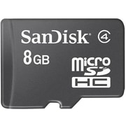 SanDisk® SDSDQM MicroSD High Capacity Flash Memory Card, 8GB
