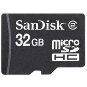 SanDisk® SDSDQM MicroSD High Capacity Flash Memory Card, 32GB