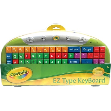 Ergoguys 11071A Crayola USB EZ Type Computer Keyboard