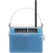 Sangean D6 FM/AM Portable Receiver, Blue