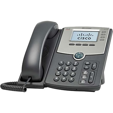 Cisco® SPA514G 4-Line IP Phone With 2-Port Gigabit Ethernet Switch