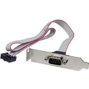 Startech.com® PLATE9M 1 Port 16 DB9 Low Profile Serial Port Bracket to 10 Pin Header