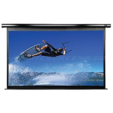 Elite Screens™ VMAX2 Series 165in. Electric Wall and Ceiling Projector Screen, 4:3, White Casing