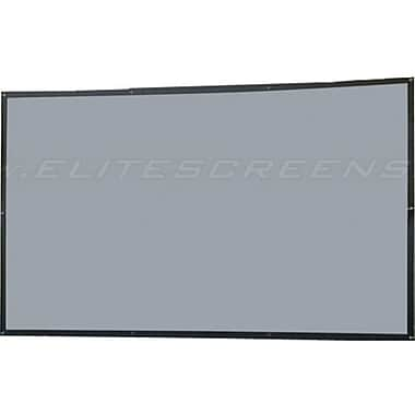 Elite Screens™ DIY Series 114in. Wall Projector Screen, 16:9, Black Backing
