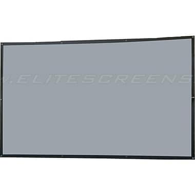 Elite Screens™ DIY Series 133in. Wall Projector Screen, 16:9, Black Casing