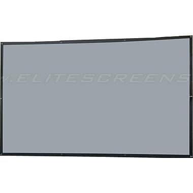 Elite Screens™ DIY Series 145in. Wall Projector Screen, 4:3, Black Backing