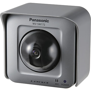 Panasonic® WVSW172 Surveillance/Network Camera, 1/4in. MOS