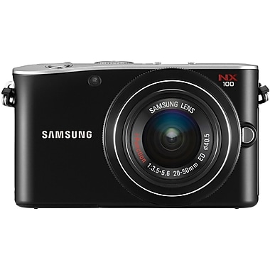 Samsung NX1000 2.46in. H x 4.49in. W x 1.46in. D Black Smart Camera, 20.3 Mega Pixels