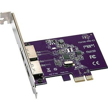 Sonnetch™ TSATA6-Pro-E2 2 Port Serial ATA Controller