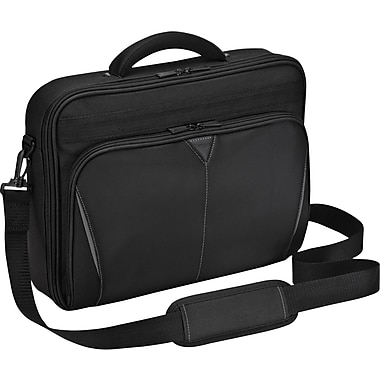 Targus® Classic CN616US 16in. Clamshell Case, Black/Red