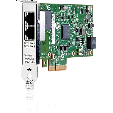 HP® 361T Gigabit Ethernet Adapter, 2 Port