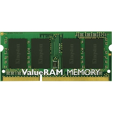 Kingston® KTT-S3C/4G DDR3 SDRAM (240-Pin SoDIMM) Single Rank Memory Module, 4GB
